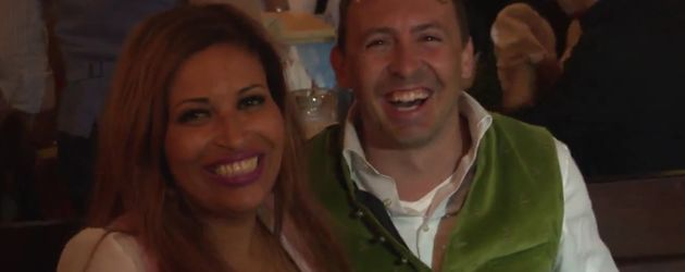 Patricia Blanco und ihre Bekanntschaft Andy auf dem Oktoberfest