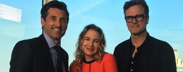Patrick Dempsey , Renée Zellweger und Colin Firth