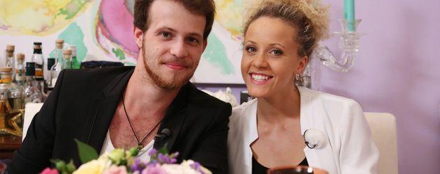 Patrick Müller und seine Frau Joy Lee Juana Abiola-Müller
