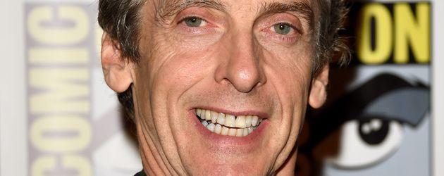 "Peter Capaldi beim Photocall für ""Doctor Who"" in San Diego 2015"