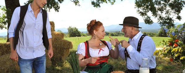 Sepp Schauer und Petra Berndt
