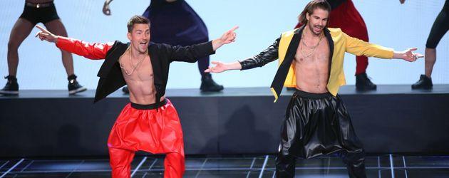 """Philipp Boy (l.) und """"Bene"""" Mayr bei """"Dance Dance Dance"""""""