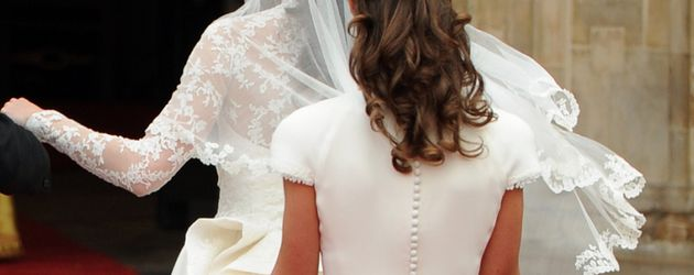 Pippa Middleton bei Kates Hochzeit 2011