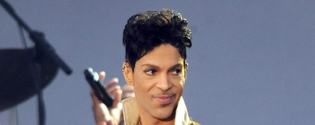 Prince beim Hop Farm Festival in England