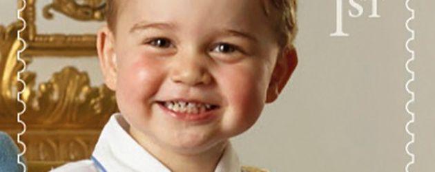 Prinz George als Briefmarke