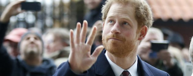 Prinz Harry in London, 2016
