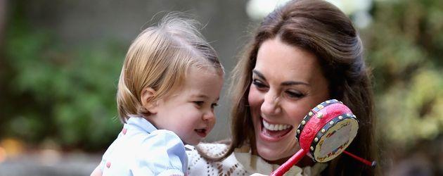 Prinzessin Charlotte und Herzogin Kate in Kanada