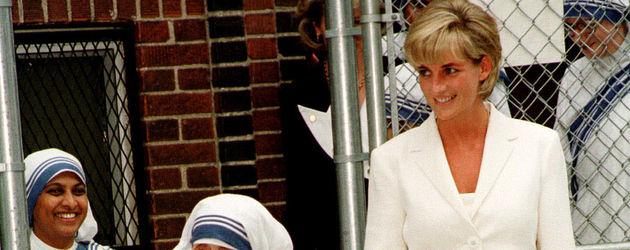 Mutter Teresa und Prinzessin Diana