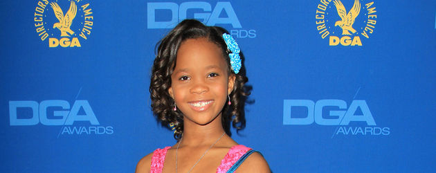 Quvenzhane Wallis in Pink