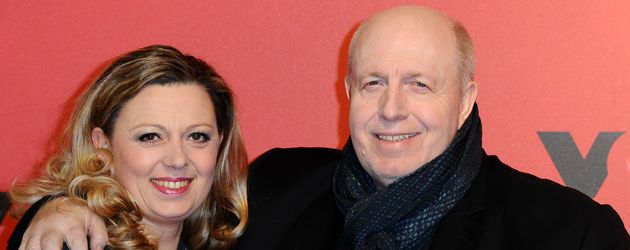 XXL-Manager Reiner Calmund mit Sommelière Natalie Lumpp