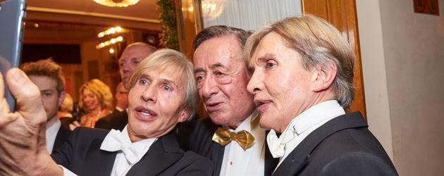 Richard Lugner und Botox-Boys