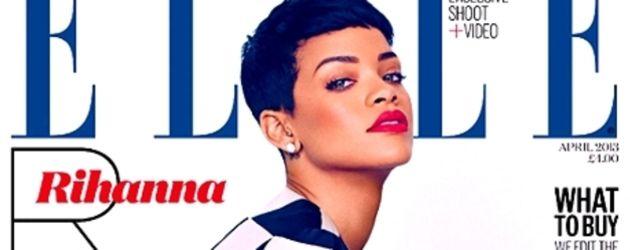 Rihanna auf dem Cover der britischen Elle