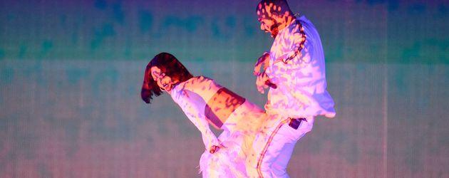 Rihanna und Drake bei den BRIT Awards 2016