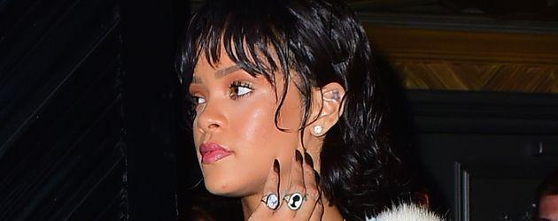 Rihanna an einem New Yorker Nachtclub