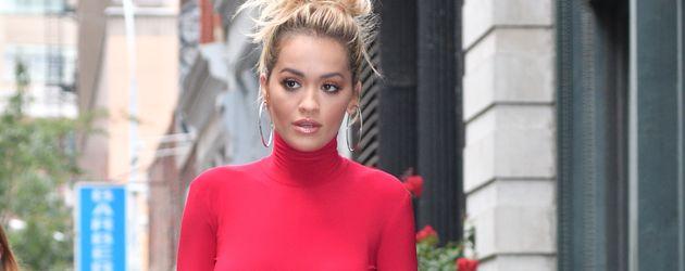 Rita Ora auf den Straßen von New York