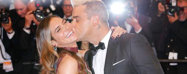 Robbie Williams und Ayda Field bei den Filmfestspielen in Cannes