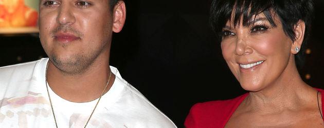 Robert Kardashian und Kris Jenner