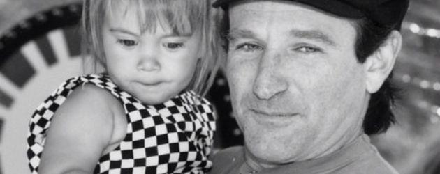 Robin Williams mit seinem Töchterchen Zelda