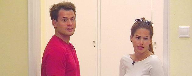 """Rocco Stark und Angelina Heger bei """"Das Sommerhaus der Stars"""""""