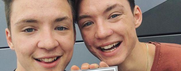 """Roman und Heiko Lochmann mit ihrem Album """"#Zwilling"""""""