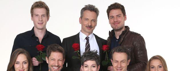"""Darsteller der 13. Staffel von """"Rote Rosen"""""""