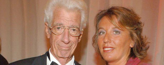 Rudi Carrell mit Ehefrau Simone bei der Goldenen Kamera in Hamburg