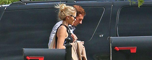Ryan Lochte und seine Kayla Rae Reid bei ihrer Rückkehr in Charlotte, North Carolina