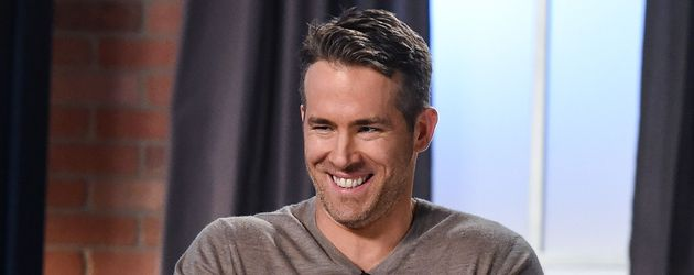 Ryan Reynolds im November 2016 in einer Talkshow in Los Angeles
