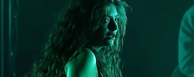 Lorde während eines Auftritts im Hard Rock Hotel Las Vegas