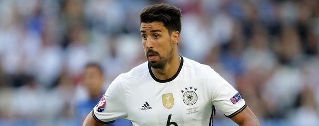 Sami Khedira beim EM-Spiel Deutschland gegen Italien