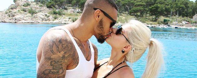 Dominic Harrison und Sarah Nowak im Kroatien-Urlaub