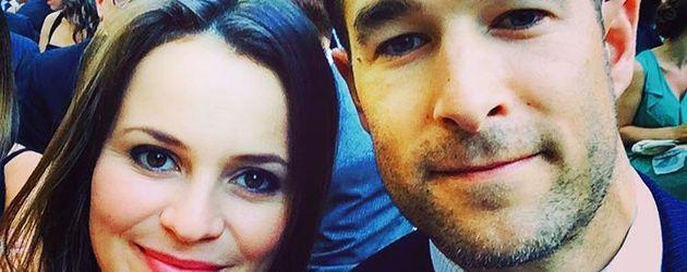 Eiskunstläuferin Sasha Cohen und ihr Ehemann Tom May