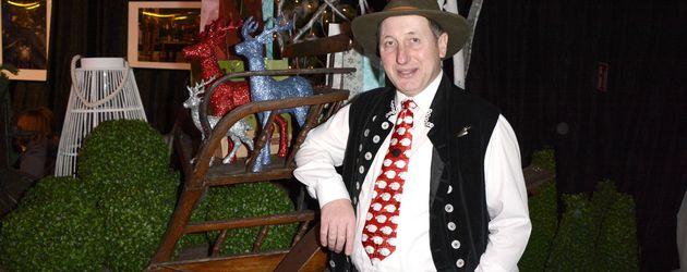 Schäfer Heinrich bei der Musicalpremiere Vom Geist der Weihnacht in Oberhausen