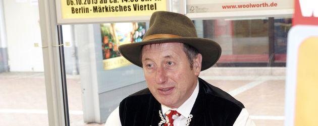 Schäfer Heinrich bei seiner Autogrammstunde in Berlin