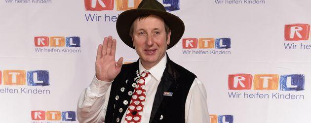 """Schäfer Heinrich beim """"19. RTL Spendenmarathon"""" in Köln"""