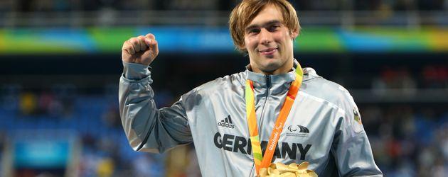 Sebastian Dietz bei den Paralympics in Rio 2016