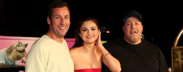 Selena Gomez, Adam Sandler und Kevin James