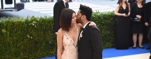 Selena Gomez und The Weeknd bei einer Gala in New York