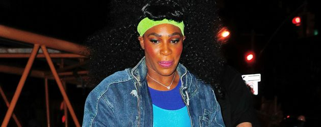 Serena Williams auf dem Weg zu Heidi Klums Halloween-Party