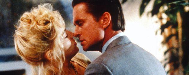 """Sharon Stone und Michael Douglas in """"Basic Instinct"""""""