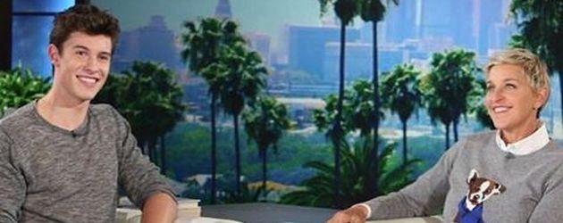 """Shawn Mendes bei der """"The Ellen DeGeneres Show"""""""