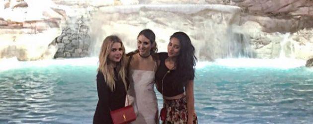 Ashley Benson, Troian Bellisario und Shay Mitchell in Italien