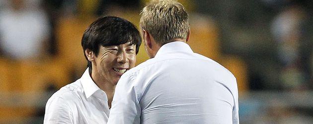 Shin Tae-Yong, der Trainer von Korea