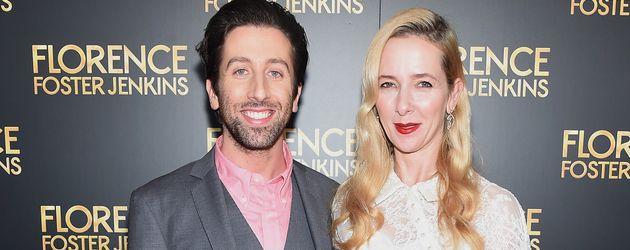 Simon Helberg und seine Frau Jocelyn Towne