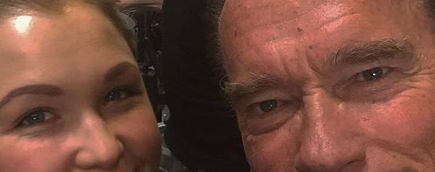 Sophia Thiel mit Arnold Schwarzenegger