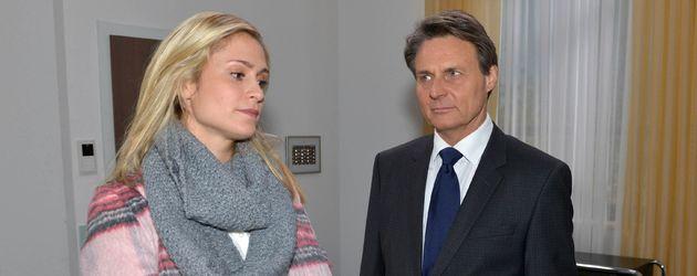Wolfgang Bahro und Lea Marlen Woitack