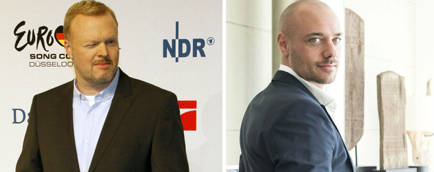 Christian Tews und Stefan Raab