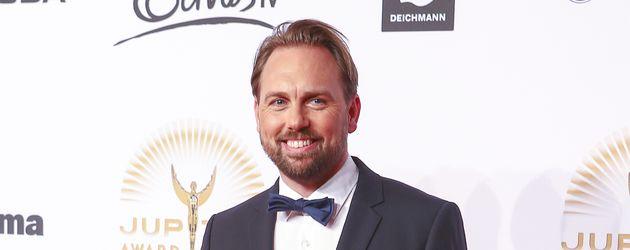 Steven Gätjen beim Jupiter Award 2014