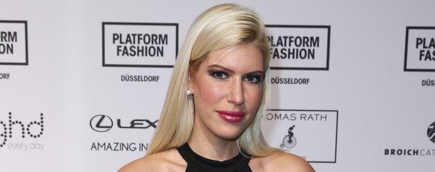Tanja Brockmann bei einer Fashion-Show