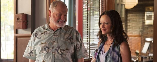 "Taylor Doose (Michael Winter) und Rory Gilmore (Alexis Bledel) in ""Gilmore Girls"""